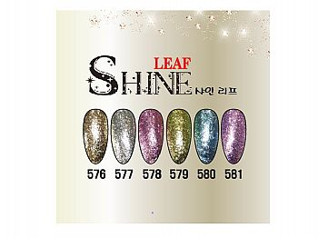 CF-Leaf ShineICE GEL Leaf Shine奢華鉑金彩膠系列