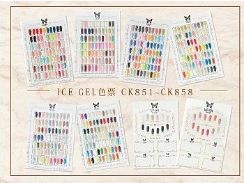CK-ICEGEL Color ChartICE GEL 色票