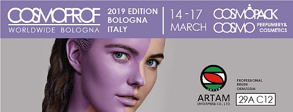 Meet Artam Enterprise in Cosmoprof Worldwide Bologna